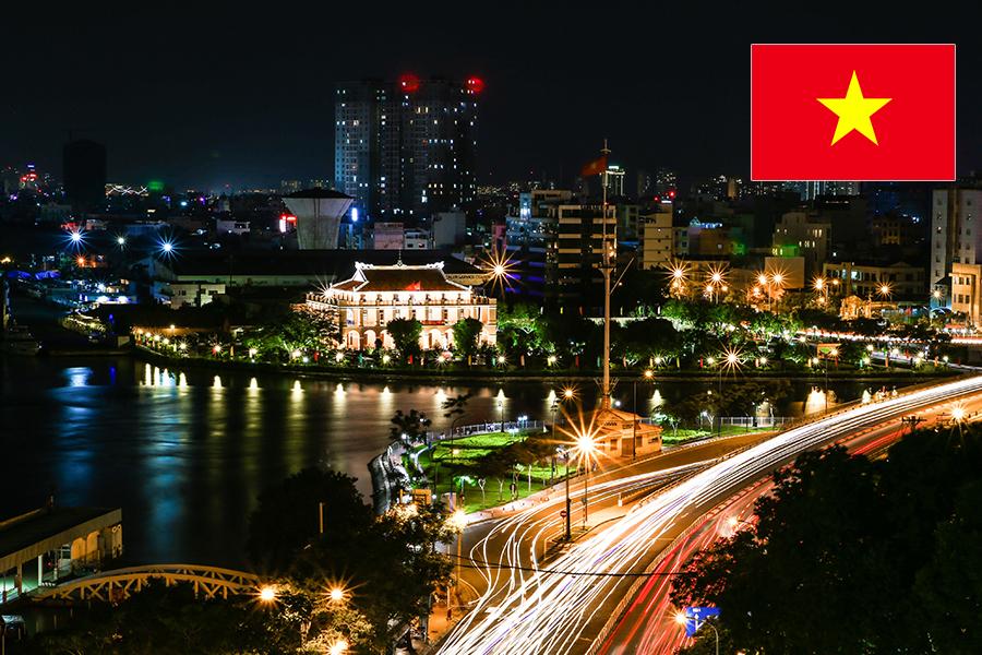 Ho Chi Minh, capitale du Vietnam